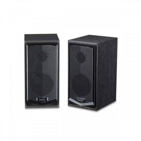 Havit HV-SK518 USB plug power 2.0 pcs 3.5 mm Wood Speaker 1