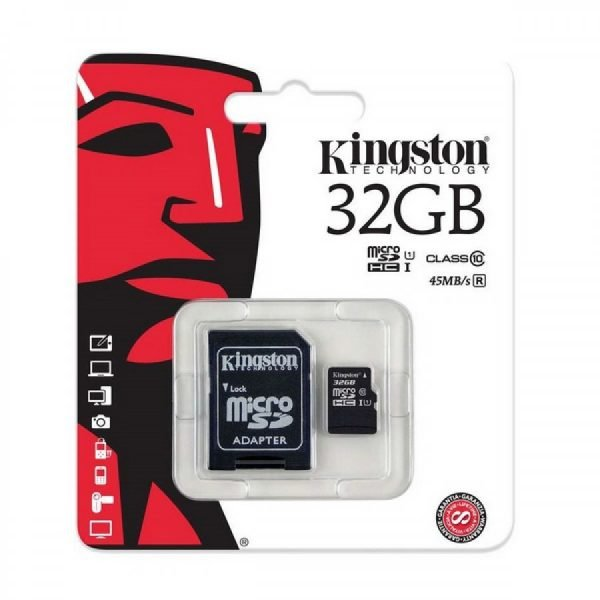 Kingston 32GB Micro SD Card 1