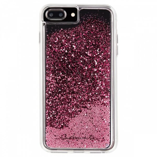 Case-Mate Naked Tough Waterfall iPhone 7 Plus Fitted Hard Shell Case - Rose Gold 2