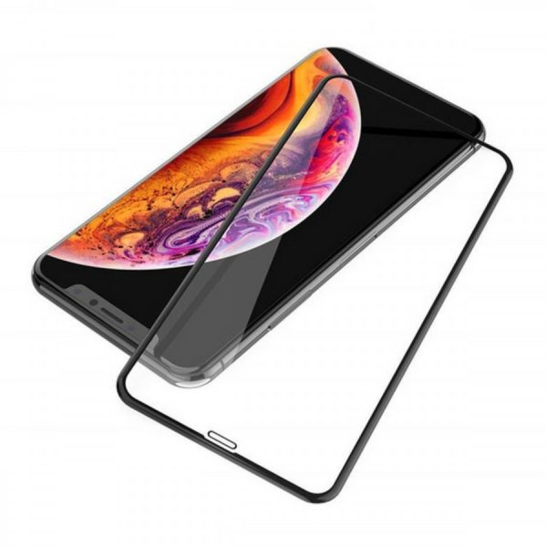 iPhone XS Max 5D Curved Tempered Glass 1