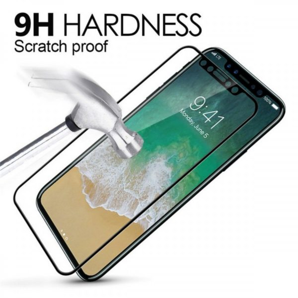 iPhone XS Max 5D Curved Tempered Glass 3