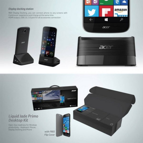 Acer Liquid Jade Primo and Desktop Kit 2