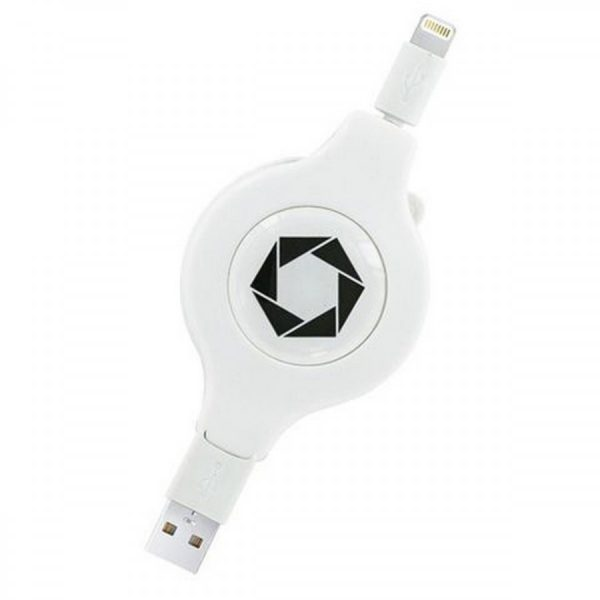6 Foot Retractable Lightning Cable by Celltronix 1
