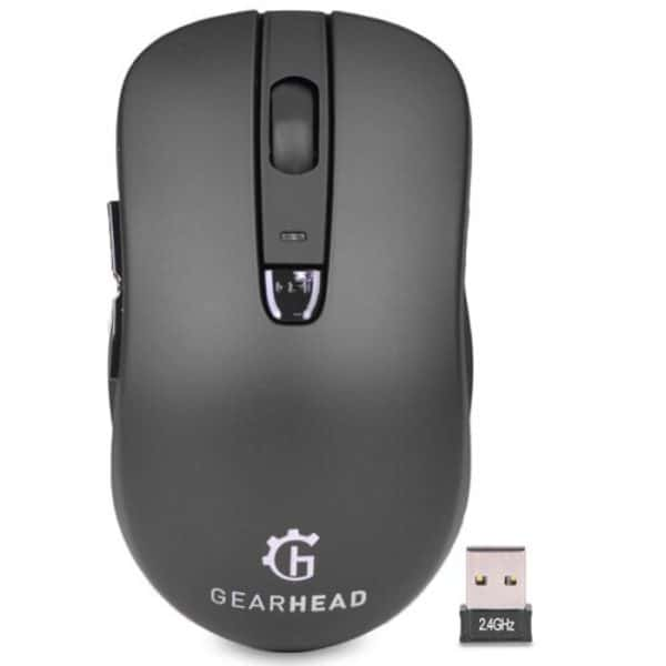Gearhead Dual Mode 2.4Ghz Wireless Mouse 1