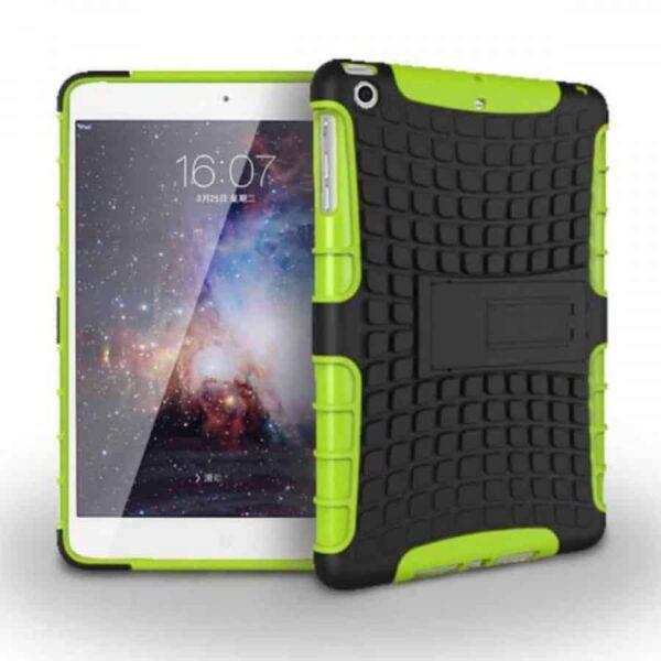 IEssentials iPad Mini 1/2/3 Rugged Stand Case - Green 1