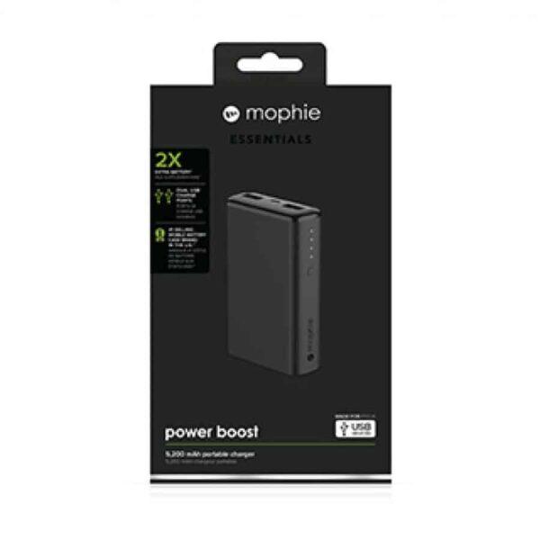 mophie black 5200 mAh power boost v2 1