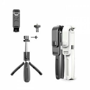 2 in 1 Selfie Stick Tripod Portable Bluetooth L02